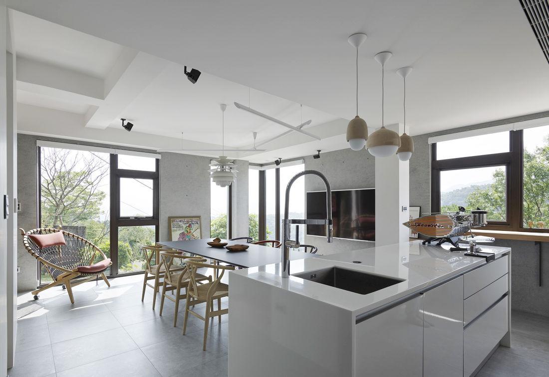 五平方厨房设计效果图