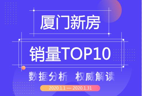 厦门1月新房销量Top10榜单公布,建发股份登顶双榜首