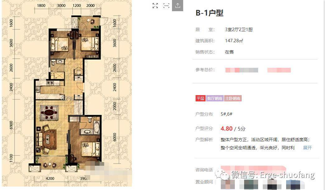 核心地段&奇葩户型,购房者青睐名品大开是对的