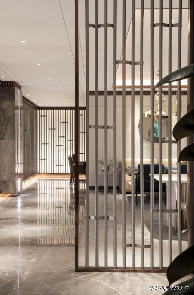 大庆·玖玺首府750㎡现代轻奢风售楼处装修设计实景;石油精神