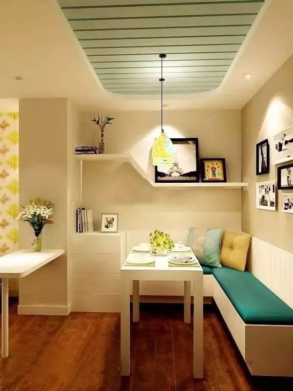 小户型餐厅若是这么设计,幸福感增加10倍!