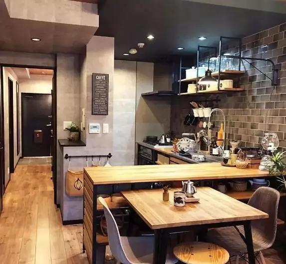 把家打造成咖啡馆,1平米就够
