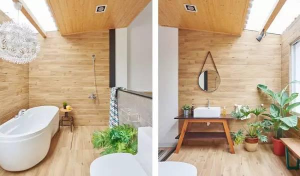 这才叫卫浴间,你家那只能叫厕所
