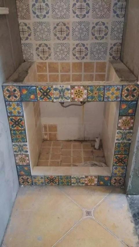 别人家的洗手台,原来砖砌洗手台可以这么好看!