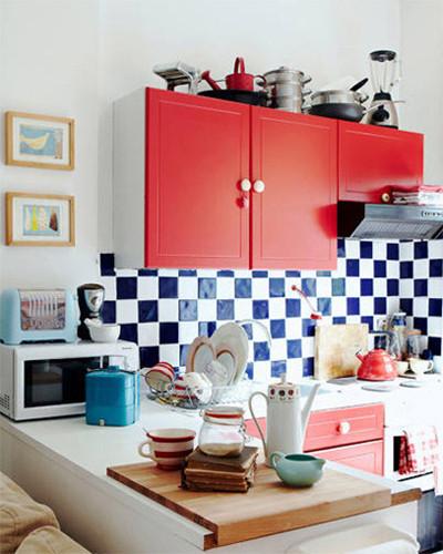 蜗居小厨房的三个简单实用收纳法