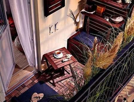 阳台设计出怪招 小空间也能大收纳