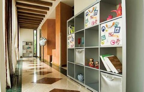 走廊独特设计 增添家装美感