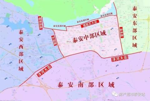 泰安未来十大强势商圈