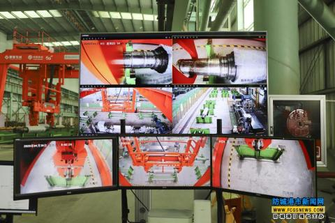 柳钢防城港钢铁基地倾力打造5G全自动化工厂