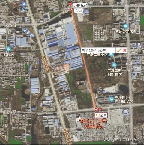 又修路啦!枣庄西部的华山南路已列入城建计划,预计近期开工