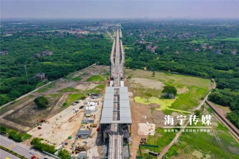 到杭州的城际铁路,进入通车倒计时!