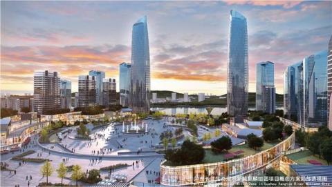 投资超100亿,泸州即将崛起一座新城,规划图曝光!