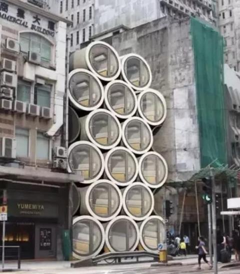 """香港的""""水管房"""",11平方月租3000元,为何还有那么多人排队买?"""