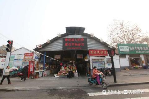 22年历史的岱东市场拆除完毕,虎山东路至迎春路将无需绕行