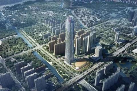 瓯海城市天际新高度——温州君康健康产业中心火热施工中